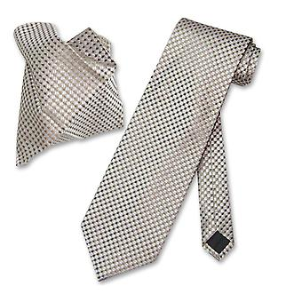 Antonio Ricci NeckTie Handkerchief Squares Men's Neck Tie Set