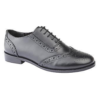 Cipriata mujeres/damas cuero Violetta Brogue zapatos Oxford