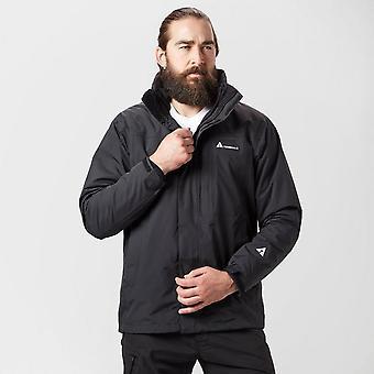 New Technicals Men's Pinnacle 3-in-1 Waterproof Jacket Black