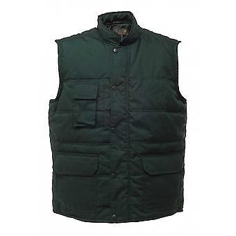 Regata Mens Workwear Jay Bodywarmer Gilet velo jaqueta poliéster/algodão