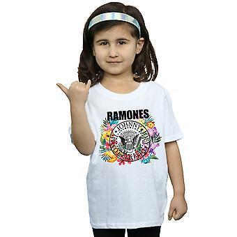 Ramones Girls Circle Flowers T-Shirt