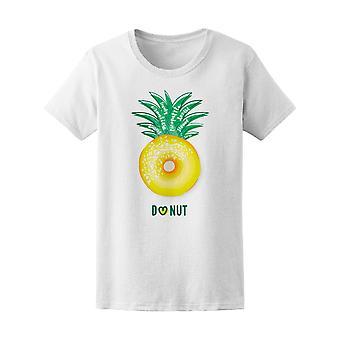 Tropiska ananas Donut kärlek Tee kvinnors-bild av Shutterstock