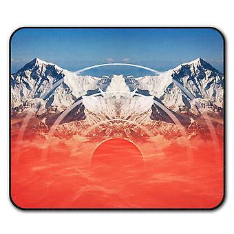 Mountains Range  Non-Slip Mouse Mat Pad 24cm x 20cm | Wellcoda
