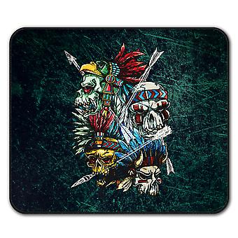 Native American USA  Non-Slip Mouse Mat Pad 24cm x 20cm | Wellcoda