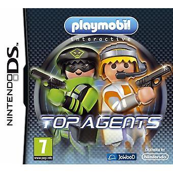 Playmobil Top Agents (Nintendo DS) - Nouveau