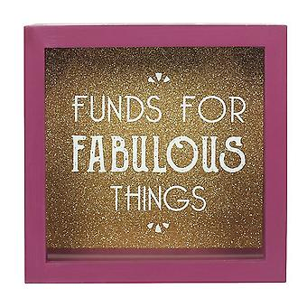 Something Different Funds For Fabulous Things Money Box
