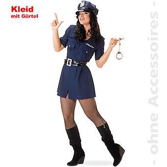 Costume de femme Lady COP Bill Mesdames costume police la police
