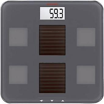 Soehnle Digital bathroom scales Solar Fit Weight range=150 kg Grey