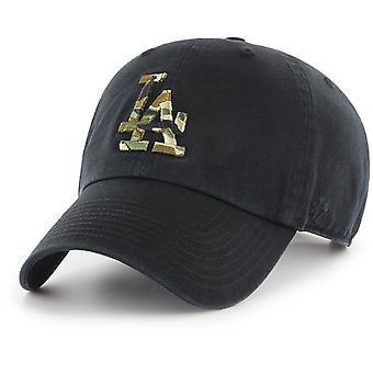 47 fire Adjustable Cap - Black CAMOFILL-LA Dodgers