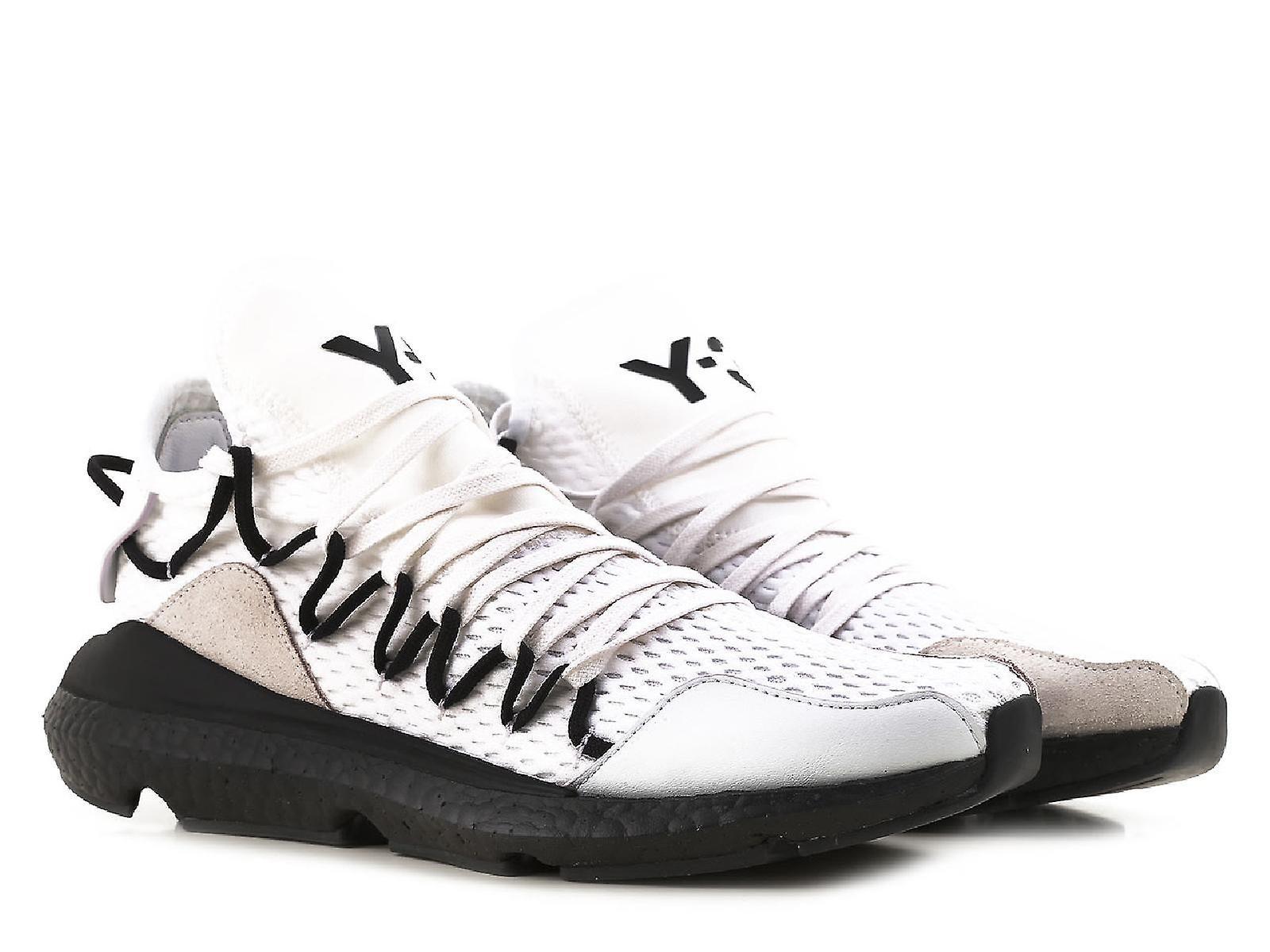 Y3 men's low top Kusari white sneakers