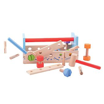 Bigjigs Toys My First Wooden Workbench Tools Construction Building Roleplay