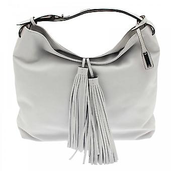 Abro Soft Leather Tassel Shoulder Handbag