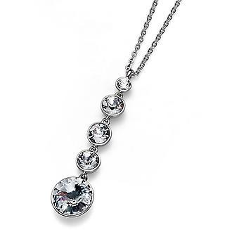 Oliver Weber Pendant Pend Rhodium Crystal