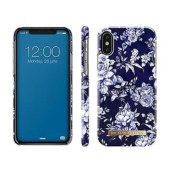 iDeal de Suecia iPhone X/XS shells-Sailor Blue Bloom
