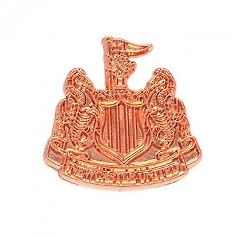 Newcastle United Copper Plated Badge