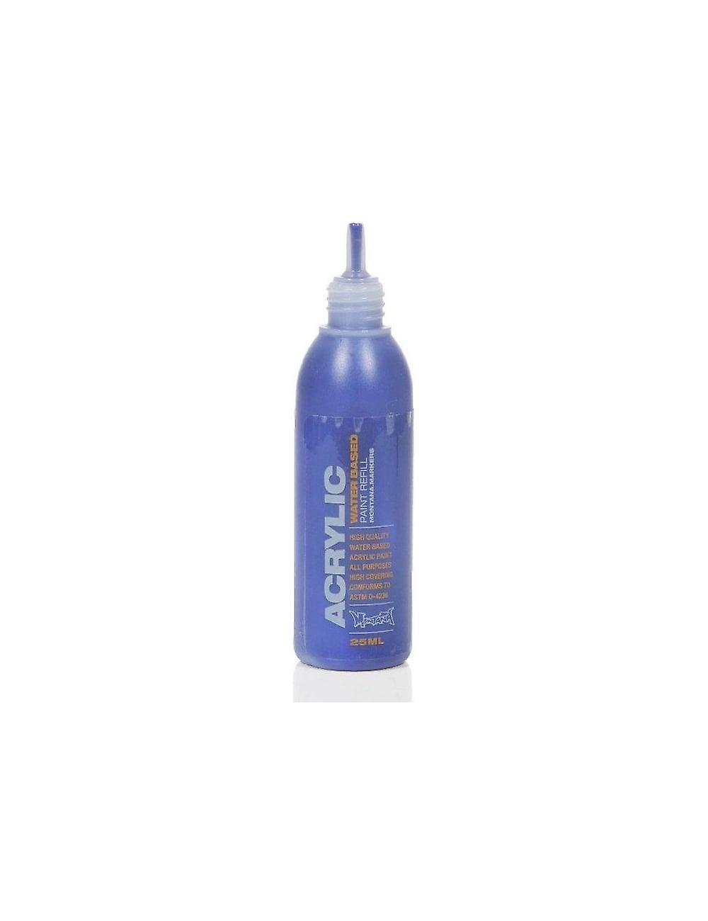 Montana Gold S5020 Shock Blue Dark - 25ml Paint Refill