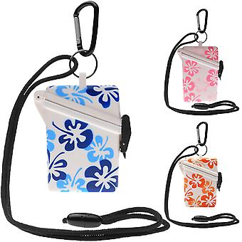 Witz Keep-It Safe Flower Vanntett Sport Case med Lanyard og Carabiner