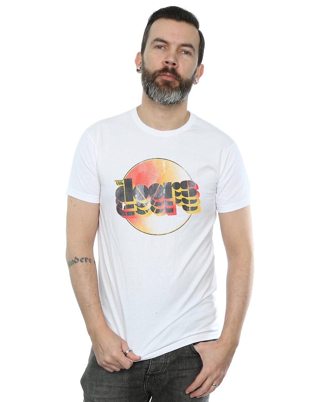 The Doors Men's Sunset Logo T-Shirt