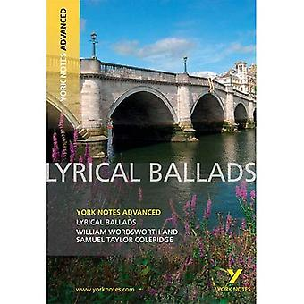 Lyrical Ballads (York Notes geavanceerde)