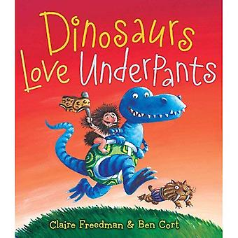 Dinozaury miłość kalesony