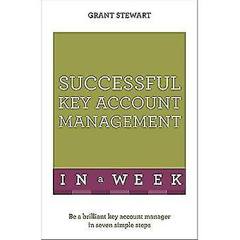 Framgångsrika Key Account Management i veckan: Vara lysande Key Account Manager i sju enkla steg (Teach Yourself)