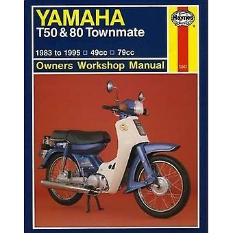 Yamaha T50 et 80 Townmate propriétaires manuel d'atelier (manuels d'atelier Haynes propriétaires)