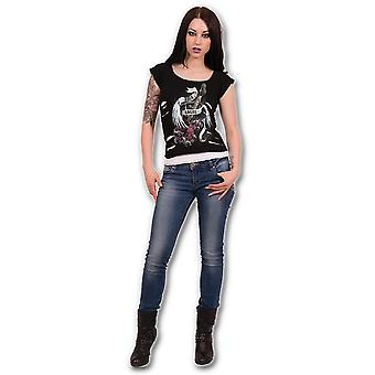 Spiral Rock Angel 2 In 1 Ripped Top XXL
