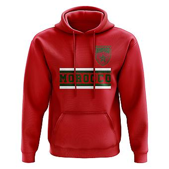 المغرب الأساسية لكرة القدم البلد هودي (أحمر)