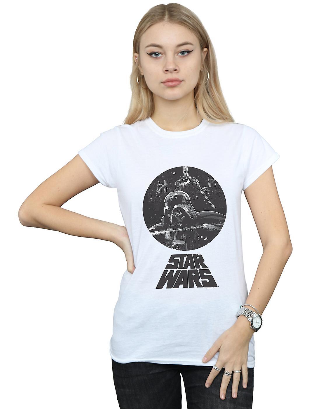 Star Wars Women's Darth Vader Bust T-Shirt
