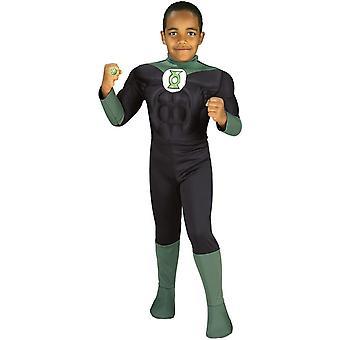 Costume enfant de lanterne verte