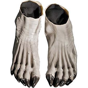 Weerwolf voeten grijs