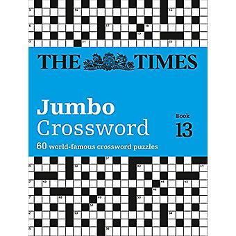 تايمز 2 جمبو الكلمات المتقاطعة كتاب 13 -- 60 كبيرة عبر المعرفة العامة