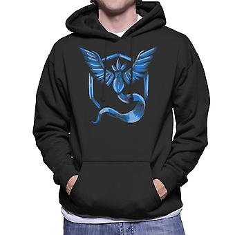 Go Mystic Pokemon Go Articuno Men's Hooded Sweatshirt