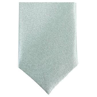Knightsbridge Neckwear Skinny Tie Polyester - vert menthe