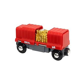 BRIO Gold Load Cargo Wagon 33938 for Wooden Tain Set