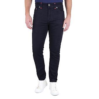 True Religion Jack Slim Tapered Super T Indigo denim Jeans