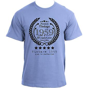 Premium Vintage 1959 Aged to Perfection Limited Edition Birthday Present Mens t-shirt