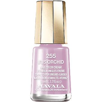 Mavala Mini Color Creme Effect Nail Polish - Iris Orchid (255) 5ml