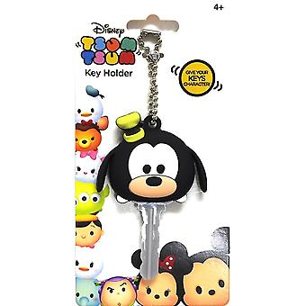 Key Cap - Disney - Soft Touch PVC Holder Tsum Tsum Goofy 85453