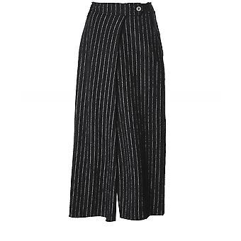 Crea Concept Wool Blend Pinstripe Trousers
