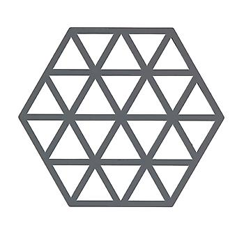 Zone Cool Grey Triangles Trivet