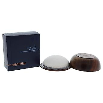 Floris London The Gentleman Elite Shaving Soap in a Wooden Bowl 100g