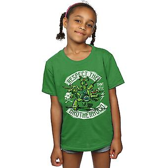 TMNT Girls Respect Brotherhood T-paita