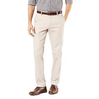 Dockers Men-apos;s Slim Fit Signature Khaki Lux Cotton Stretch, Cloud, Taille 34W x 32L