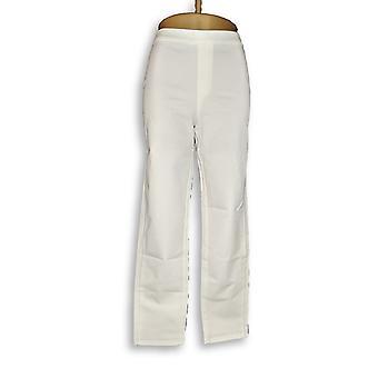 Isaac Mizrahi Live! Donne's Pantaloni Allungare Bianco A302696