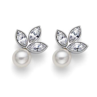 Earring Touch Pearl RH CRY