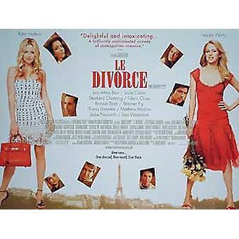 Le avioero (kaksipuolinen) alkuperäinen elokuva juliste