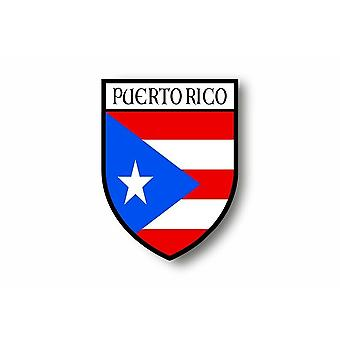 Sticker Sticker Sticker Motorcycle Car Blason City Flag Puerto Rico