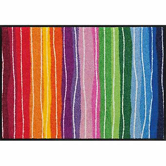 Salon lion foot mat washable pure style wavy lines colored 50 x 75 cm SLD1075-050 x 075