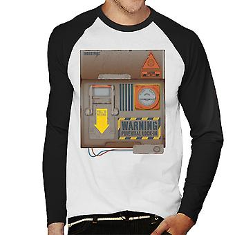 The Crystal Maze Lock In Board Rust Men's Baseball Long Sleeved T-Shirt